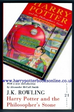 Philosophers Stone. Bloomsbury 21st Birthday Celebration Edition