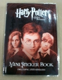 Harry Potter and the Order of the Phoenix Mini Sticker Book.