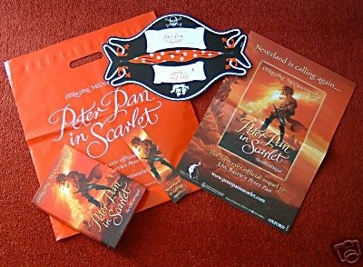 Peter Pan in Scarlet. Hardback First Edition Collectors Package!