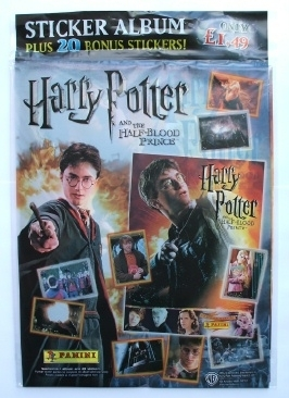 Harry Potter and the Half-Blood Prince PANINI Sticker Book 2009