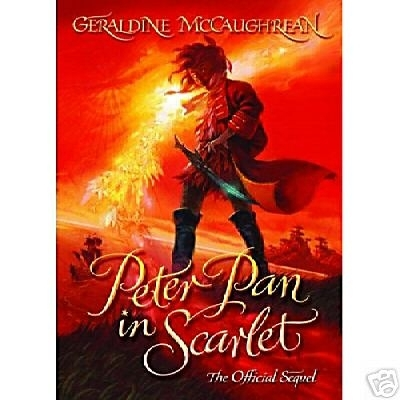 Peter Pan in Scarlet. UK Hardback First Edition, Second Print.