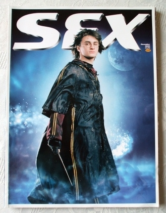 SFX. #137 Rare Subscribers Harry Potter Text Free Cover Edition