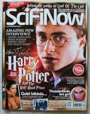 SciFiNow Sci-Fi-Now Magazine #30 Featuring Harry Potter Cover