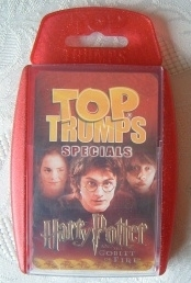 Harry Potter TOP TRUMPS Goblet of Fire Specials Edition.
