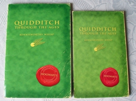 Quidditch Through the ages Very Rare US Import First Edition
