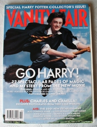 vanity fair 2001 special collectors edition magazine from harry