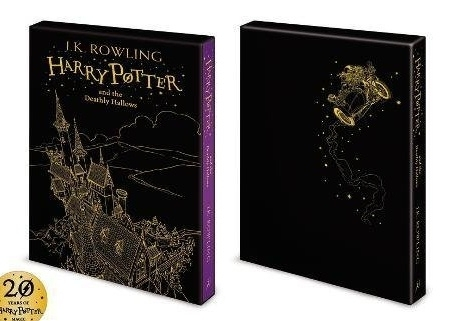 Harry Potter Deathly Hallows. UK Boxed Gift Edition First Ed