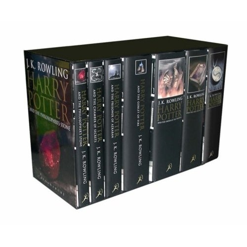 Harry Potter Boxed Set (Adult Cover Edition Books) All 7