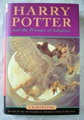 Harry Potter JK Rowling Bloomsbury Azkaban Original 26th Print.