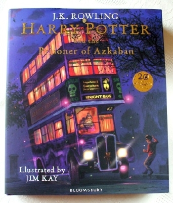 Harry Potter Prisoner of Azkaban Illustrated 1st Edition Jim Kay