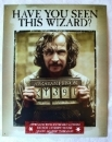 RARE! Harry Potter Azkaban WANTED Sirius Black TIN SIGN