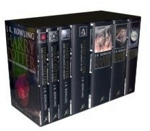 Harry Potter, UK First Edition, Adult Cover 7 Book Box Set.
