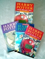 Bloomsbury THREE book box set. Harry Potter Collection.