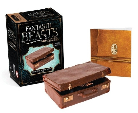 Fantastic Beasts. Newt Scamander's Case & Mini Colour Book Kit!
