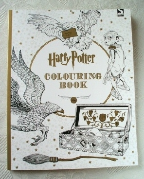 Harry Potter. Colouring Book. Stress Relief. Anxiety Reliever.