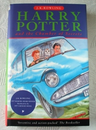 Harry Potter & the Chamber of Secrets UK 1st Edition. Ted Smart.