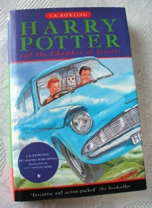 J K Rowling's Classic. Harry Potter and the Chamber of Secrets.
