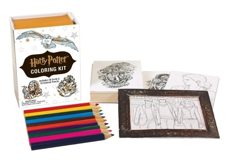 Miniature Harry Potter Colouring Kit (Coloring) Never Used!