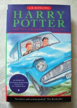 Harry Potter and the Chamber of Secrets (Book 2) UK 1st/25th Ed.