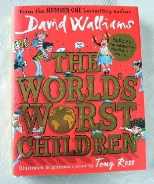 David Walliams The World's Worst Children Hardback First Edition