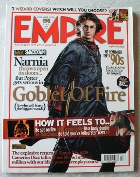 Empire Magazine #198 Harry Potter and the Goblet of Fire. (Read)