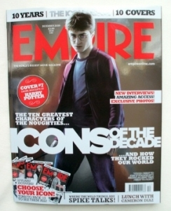 EMPIRE Magazine Limited Edition Harry Potter Cover DEC 2009