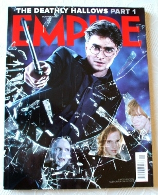 EMPIRE Magazine #256 Limited Edition Harry Potter Cover OCT 2010