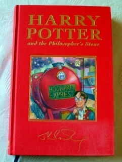 Harry Potter and the Philosopher's Stone UK Deluxe First Edition