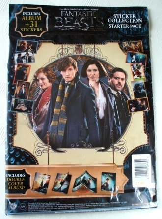 Fantastic Beasts & Where to Find Them. PANINI Sticker Book 2016