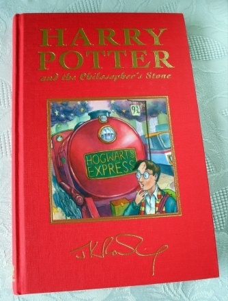 Harry Potter and the Philosophers Stone UK Deluxe First Edition