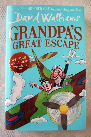 David Walliams. Grandpa's Great Escape Hardback 1st Edition