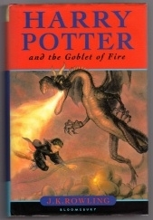 Harry Potter & the Goblet of Fire by J.K. Rowling UK 1st Edition