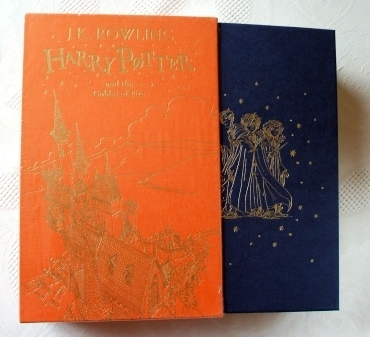 Harry Potter Goblet of Fire. UK Boxed Gift Edition First Ed