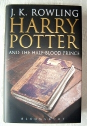 Harry Potter and the Half-Blood Prince Adult Cover First Edition
