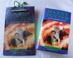 Harry Potter & the Half-Blood Price First Edition with Promo Bag