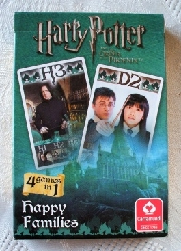 Harry Potter Carta Mundi Happy Families Phoenix Playing Cards