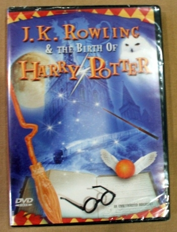 J. K. Rowling & the Birth of Harry Potter DVD