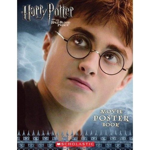Harry Potter and the Half Blood Prince Movie Poster Book 1st Ed.