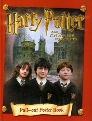 Harry Potter Pull-Out Poster Book Chamber of Secrets 2002