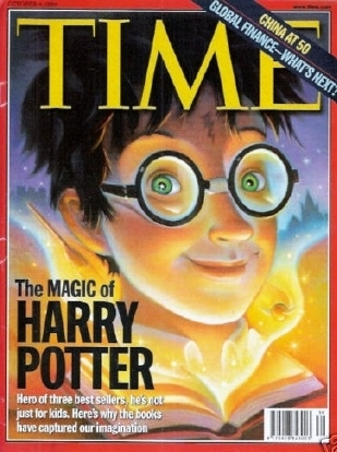 TIME Magazine Rare Harry Potter Cover Oct 4th 1999