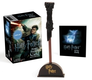Harry Potter Wizards Wand Kit & Mini Sticker Book