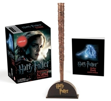 Harry Potter. Hermione's Wand Kit & Mini Sticker Book