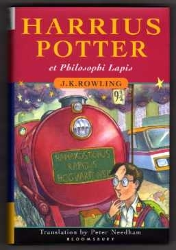 Harry Potter and the Philosopher's Stone. LATIN First Edition.