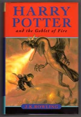 Harry Potter and the Goblet of Fire. UK 1st Ed. Ted Smart.