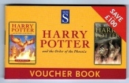 WH Smith Voucher Book. Harry Potter. Gryffindor. Hogwarts.