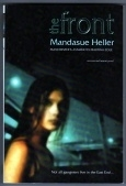Mandasue Heller. The Front. Uncorrected Proof Copy.