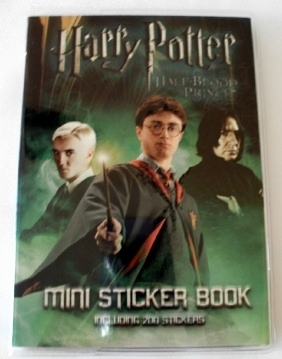Rare Harry Potter & the Half Blood Prince Mini Sticker Book