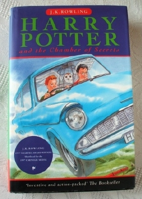 Harry Potter & the Chamber of Secrets 1998 UK First Edition H/B