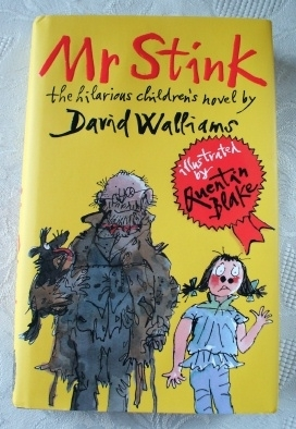 David Walliams Mr Stink. UK Hardback First Edition, First Print