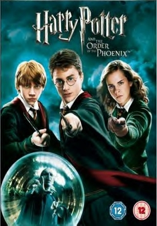 Harry Potter and the Order of the Phoenix UK Pal R2 DVD